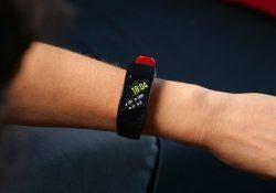 test du bracelet connecté Samsung