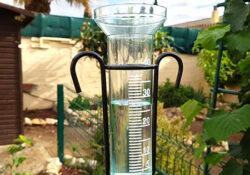 vérifier l'étalonnage d'un pluviomètre